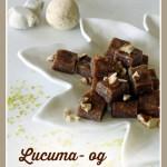 Lucuma- og pecankarameller