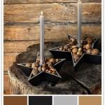 Julens fargekombinasjoner: Rått og røft