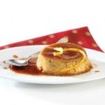 Karamellpudding med økologisk sukker og stevia