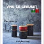 Vinn krukker fra Le Creuset
