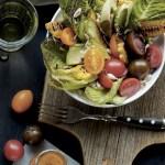Avokadosalat med guajillo chili-dressing
