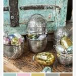 Tøft med turkis til påske