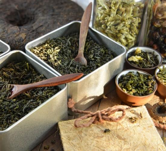 Grønn te er sunnest med sitron