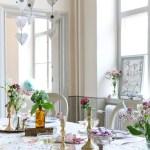 BORDDEKKING: Bruk tapet som dekorasjon til fest og bryllup