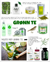 GRØNN TE - I mat og drikke, for hud og hår