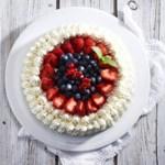Sukkerfri, glutenfri og lavkarbo bløtkake på 1-2-3 av kakemix