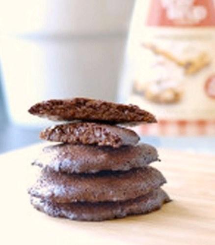 Oppskrift-på-proteinrike-sjokoladekjeks