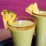 Alkoholfri shake med avokado, appelsin og banan (og chili!)