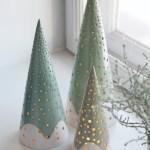 Stilren julepynt med inspirasjon fra de nordiske skoger