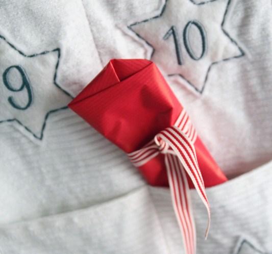 Adventskalender med lommer ©FOTO Kremmerhuset