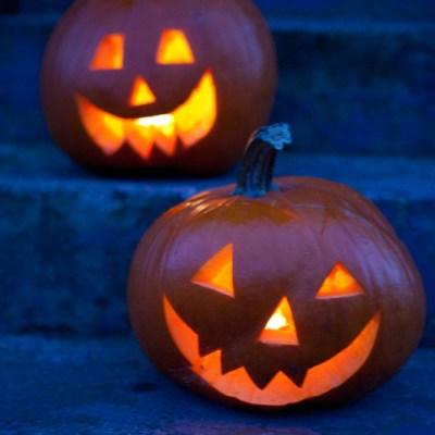 Lag gresskarlykt til allehelgensaften eller Halloween-festen