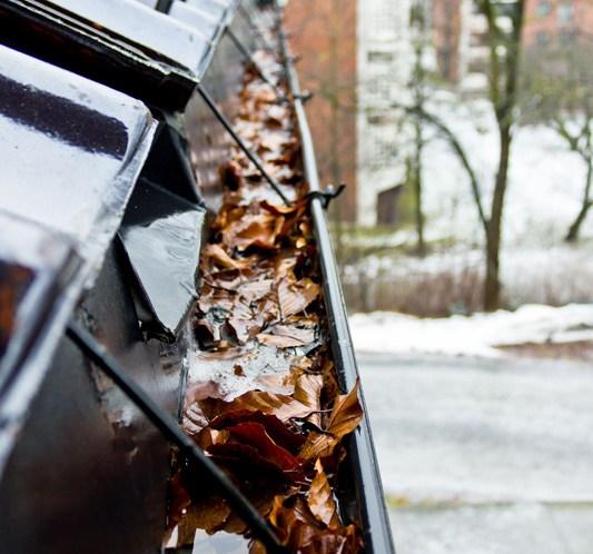 INTERIØRTIPS Sjekk takrenner før høsten ©FOTO Chera Westman - ifi