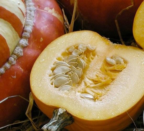 Oppskrift på ristede gresskarkjerner med salt eller pumpkin pie spice mix