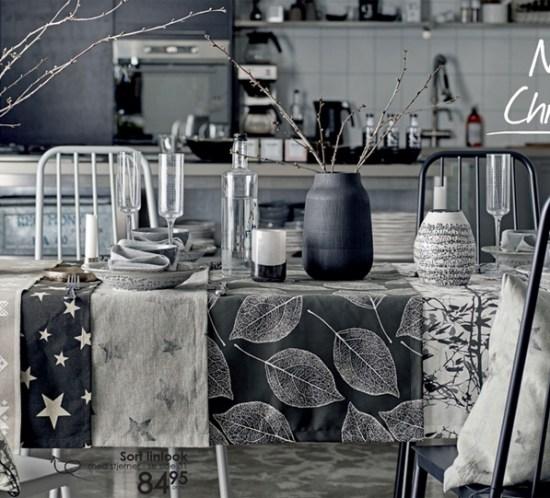 BORDDEKKINGSTIPS - bord i stilen Nordic Christmas fra Stoff & Stil