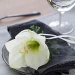5 ideer til blomstrende pynt på servietten