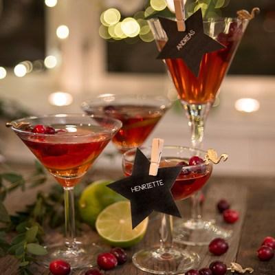 Festlig (og enkel!) drink til jul og nyttår: Rød Bellini