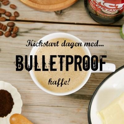 "Rask energi med LCHF fettkaffe ""Bulletproof Coffee"""