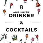 8 alkoholfrie drinker og cocktails til festen