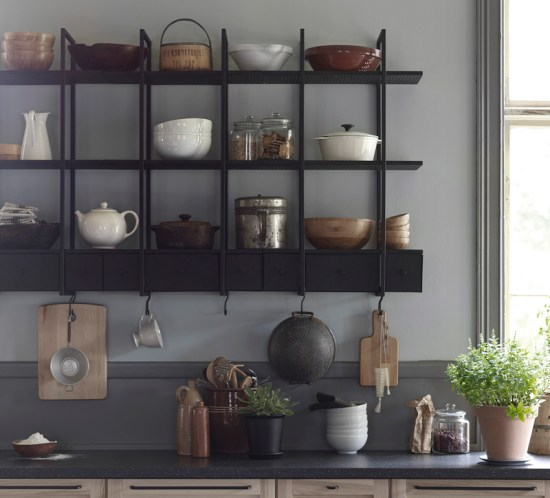 INTERIØRINSPIRASJON Fine nyheter på IKEA i februar -kjøkkenhylle