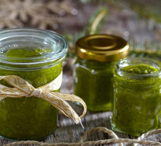 Varianter av grønn pesto rucculapesto