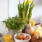 Blomstrende ideer til påskens frokostbord