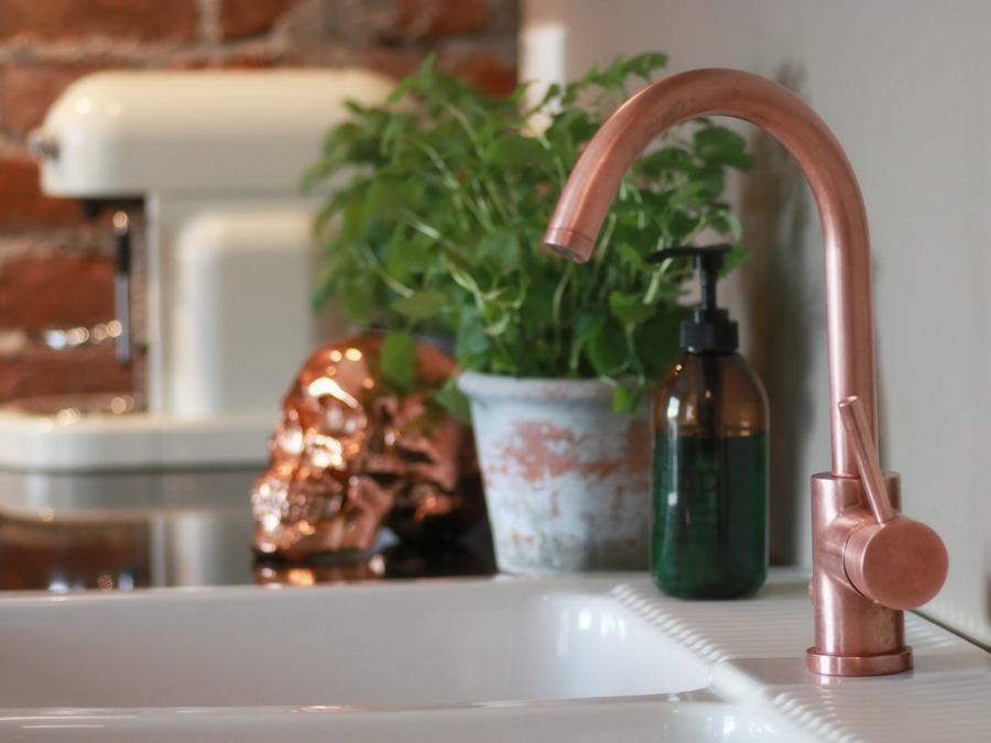 DIY TIPS - Vaske kobberkran med salt og sitron