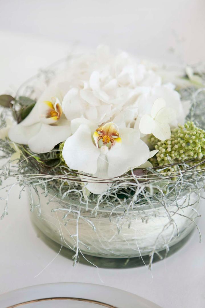INTERIØRTIPS Blomsteroppsats til konfirmasjonsbord og andre festbord