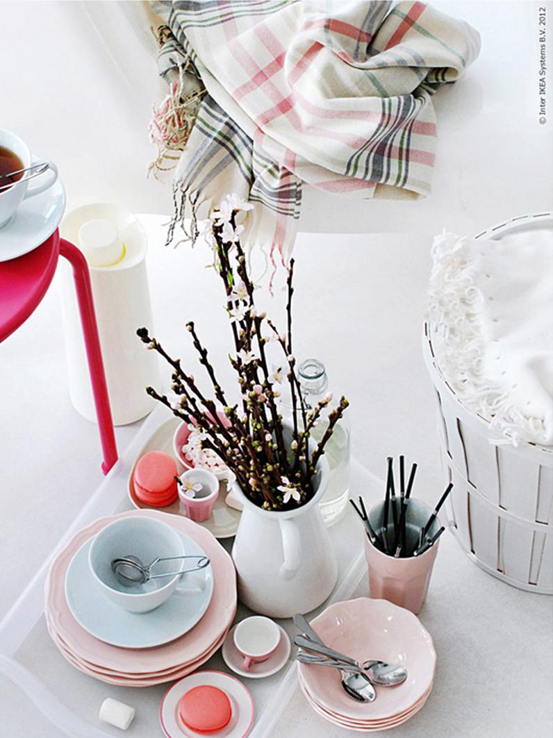 PIKNIK borddekking, interiørtips, DIY, planter, blogg, blomster