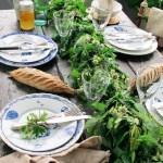 Grønt er skjønt på festbordet til Sankthans og sommerfesten