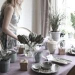 Sett potteplantene på festbordet!