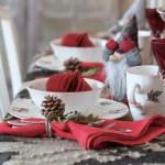 Tradisjonelt julebord til gløgg- og pepperkakefesten