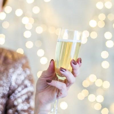 Fint til nyttårsfesten i sølv og gull