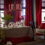 Julens røde bord