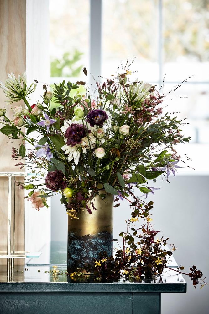 Markblomster i vase
