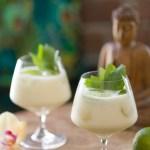 Thai-cocktail med kardemomme og sitrongress-sirup