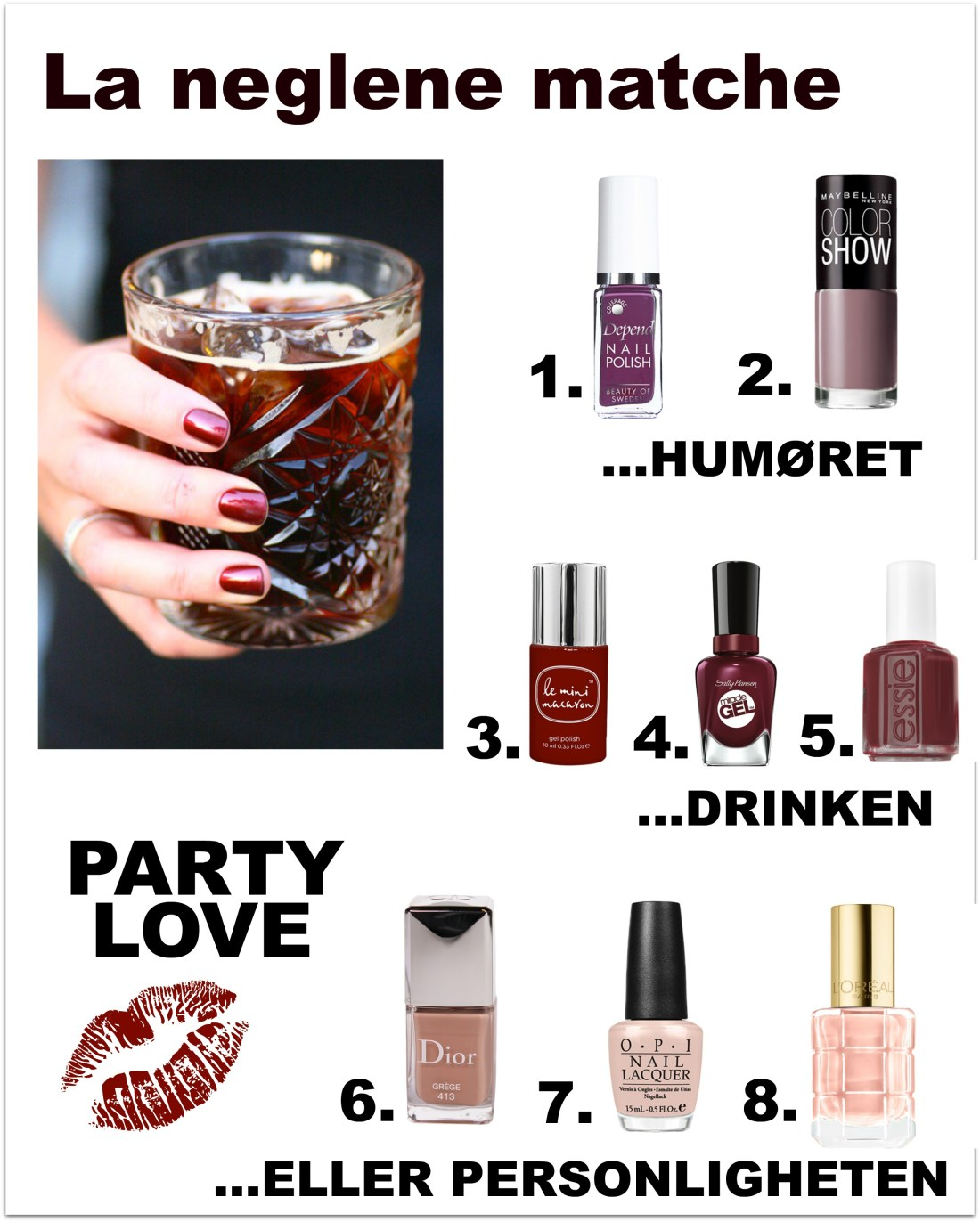 My nail lacquer favorites this autumn
