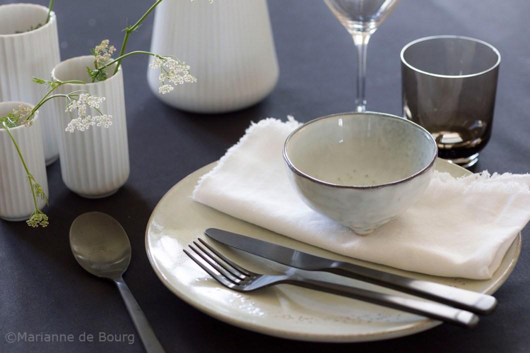 Scandi table setting