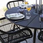 Sommerens stiligste bord dekker jeg på terrassen