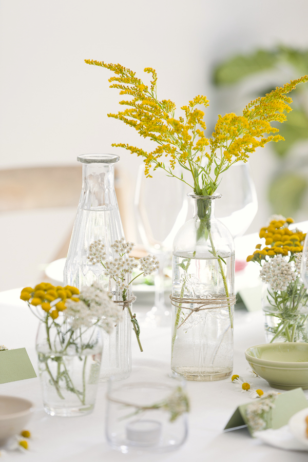 My summer table decorated with wildflowers BLOG: mariannedebourg.no