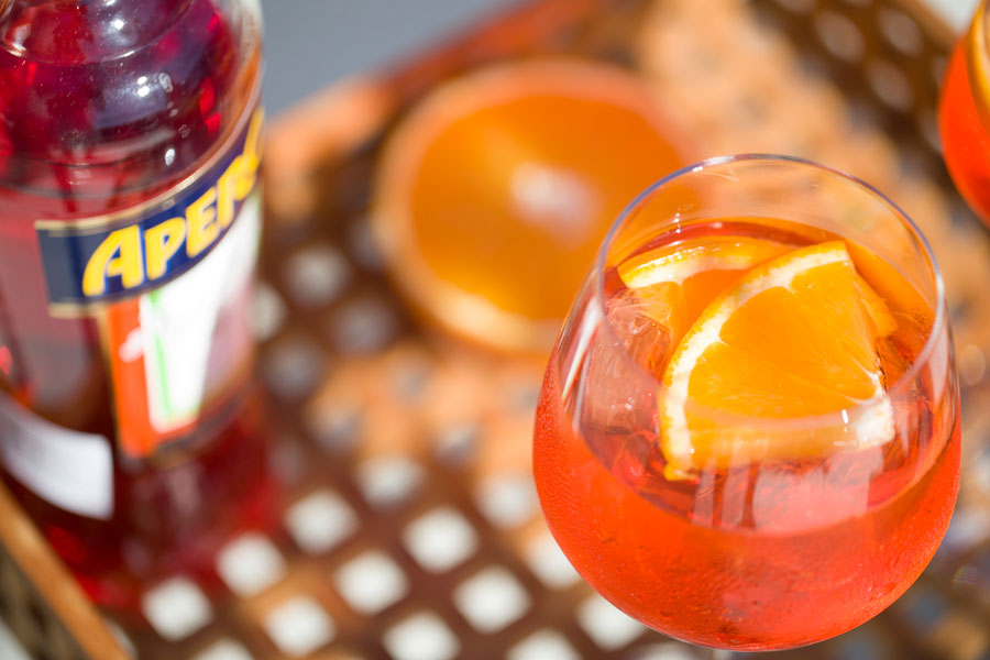 Recipe for Aperol Spritz on my blog mariannedebourg.no