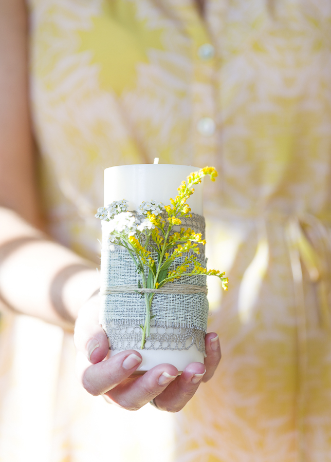 My tip for a DIY decorated hostess gift