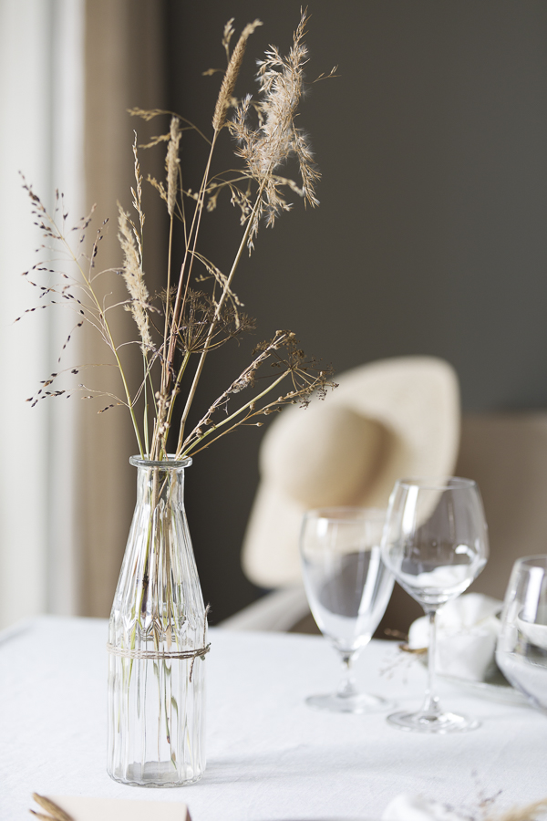 My autumn table setting