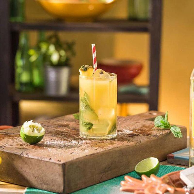 Ananas Mojito Cocktail Oppskrift