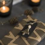 Mitt juleverksted: Til og fra-lapp av kvister