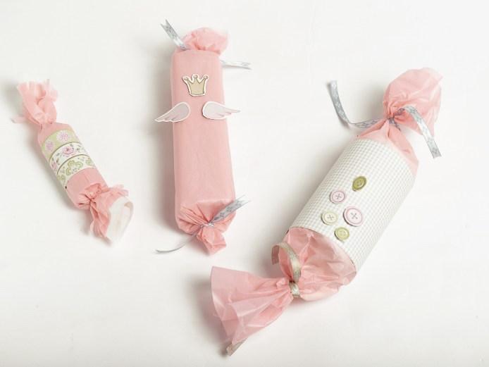 Ideer til innpakking av gaver til adventskalender til jente.