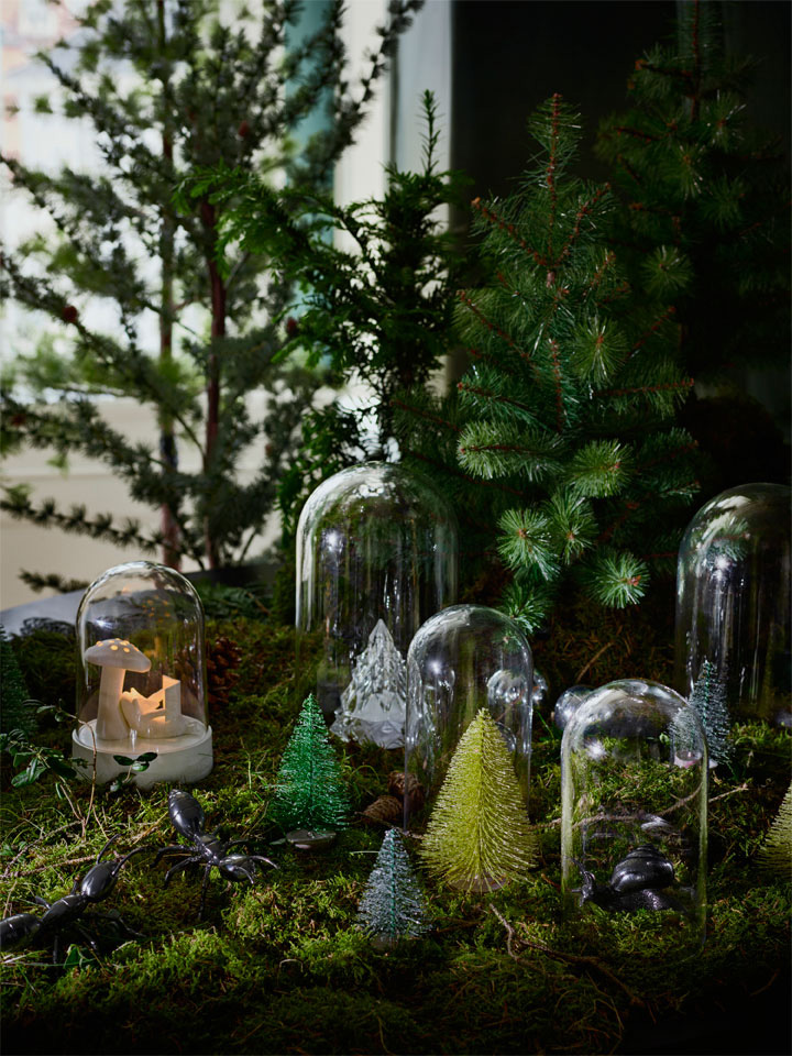 Kunstige juletrær i alle størrelser, søte og små - store og staselige.