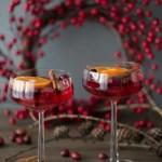 Velkomstdrink til juleselskapet (også alkoholfri)