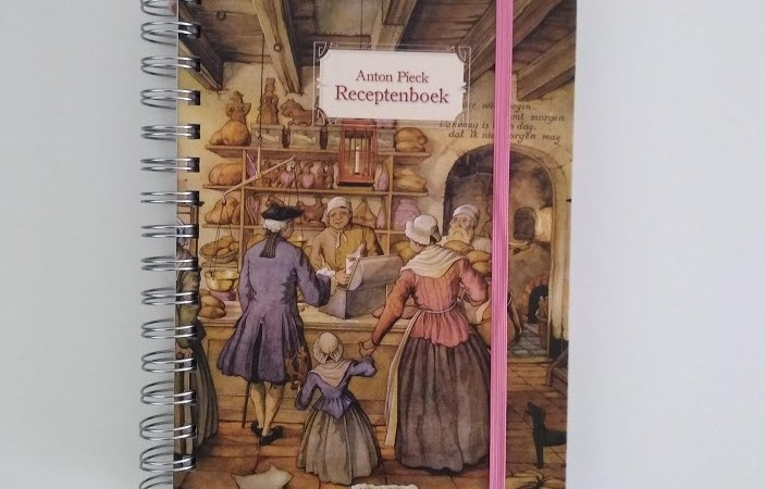 Review Anton Pieck 'receptenboek'.