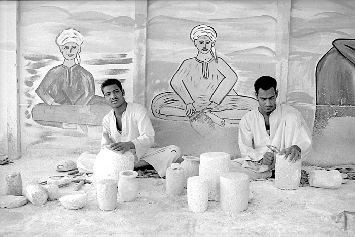 Alabaster factory, Luxor, Egypt.