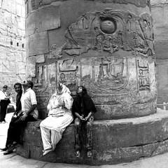 Hypostyle hall, Luxor, Egypt.